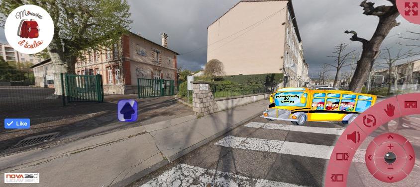 Visite virtuelle des écoles : Chavassieu, Château Lachèze, Centre