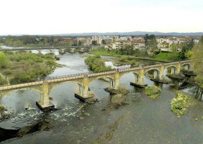 Les ponts de Montrond les Bains