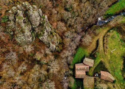 Le rocher d'escalade à la Guillanche- Studio d'Urfe